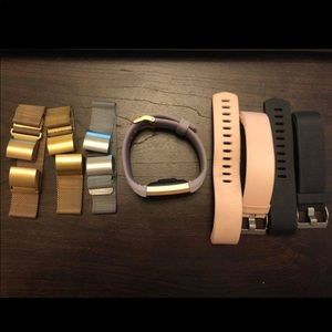 Bundle of Five FitBit Charge 2 Bands